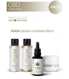 PACK CBD Organic 60ml Edición Especial