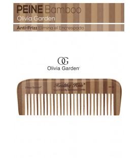 Peine Bambú Anti-Frizz Olivia Garden Mod. 4