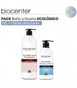 Pack Gel Baño y Ducha + Body Milk Energizante