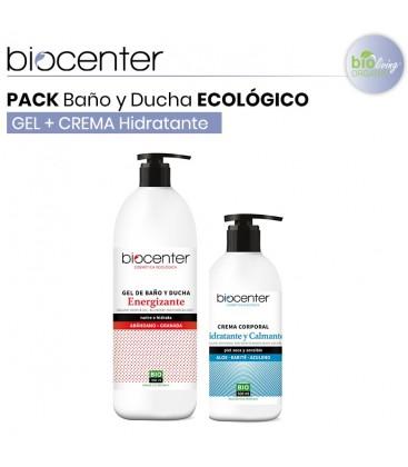 Pack Gel Baño y Ducha + Body Milk Energizante
