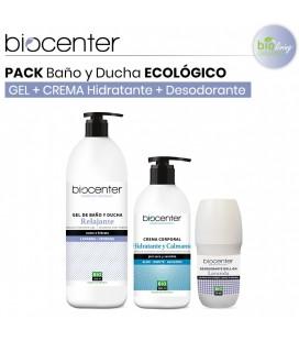 Pack Gel Baño y Ducha Relajante + Body Milk + Desodorante Lavanda