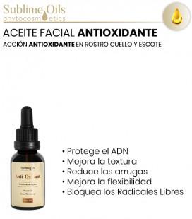 Aceite Facial Antioxidante