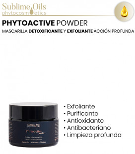Mascarilla exfoliante Phytoactive Powder