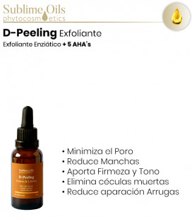 D-Peeling Exfoliante Enzimático + 5