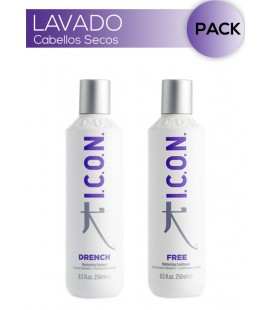 Pack Lavado Cabellos Secos Drench + Free 250ml