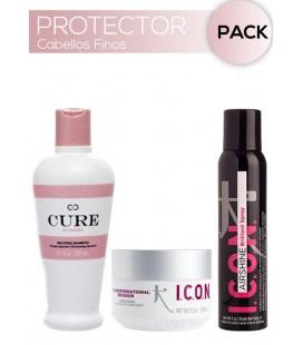 Pack Hidratante y Protector cabellos Finos