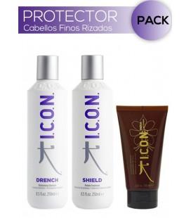 Pack PROTECTOR Cabellos Finos y Rizados