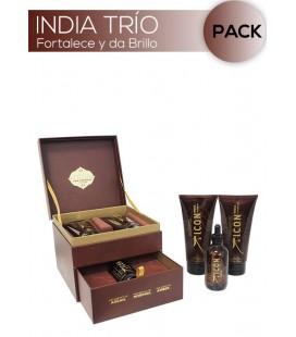 ICON India Trio Oil. Todos los cabellos. Antiencrespamiento
