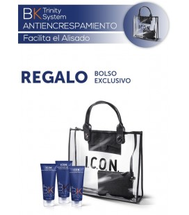 Pack BK Facilita el Alisado Antiencresp. + Bolso Exclusivo