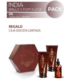 Pack INDIA Trio OIL Fortalece y Revitaliza