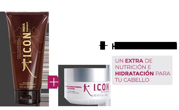 India Champú + Infusion. la combinación perfecta para obtener mayor Hidratción y Nutrición en el cabello