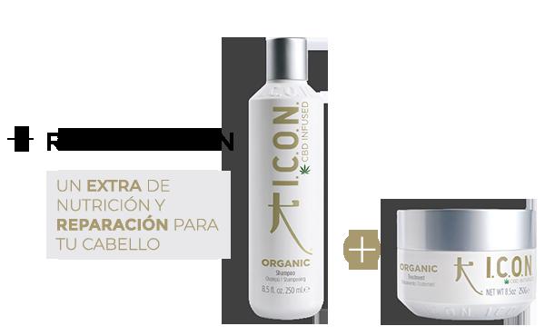 Organic Champú + Organic Tratamiento. la combinación perfecta para reparar tu cabello y  evitar la caída